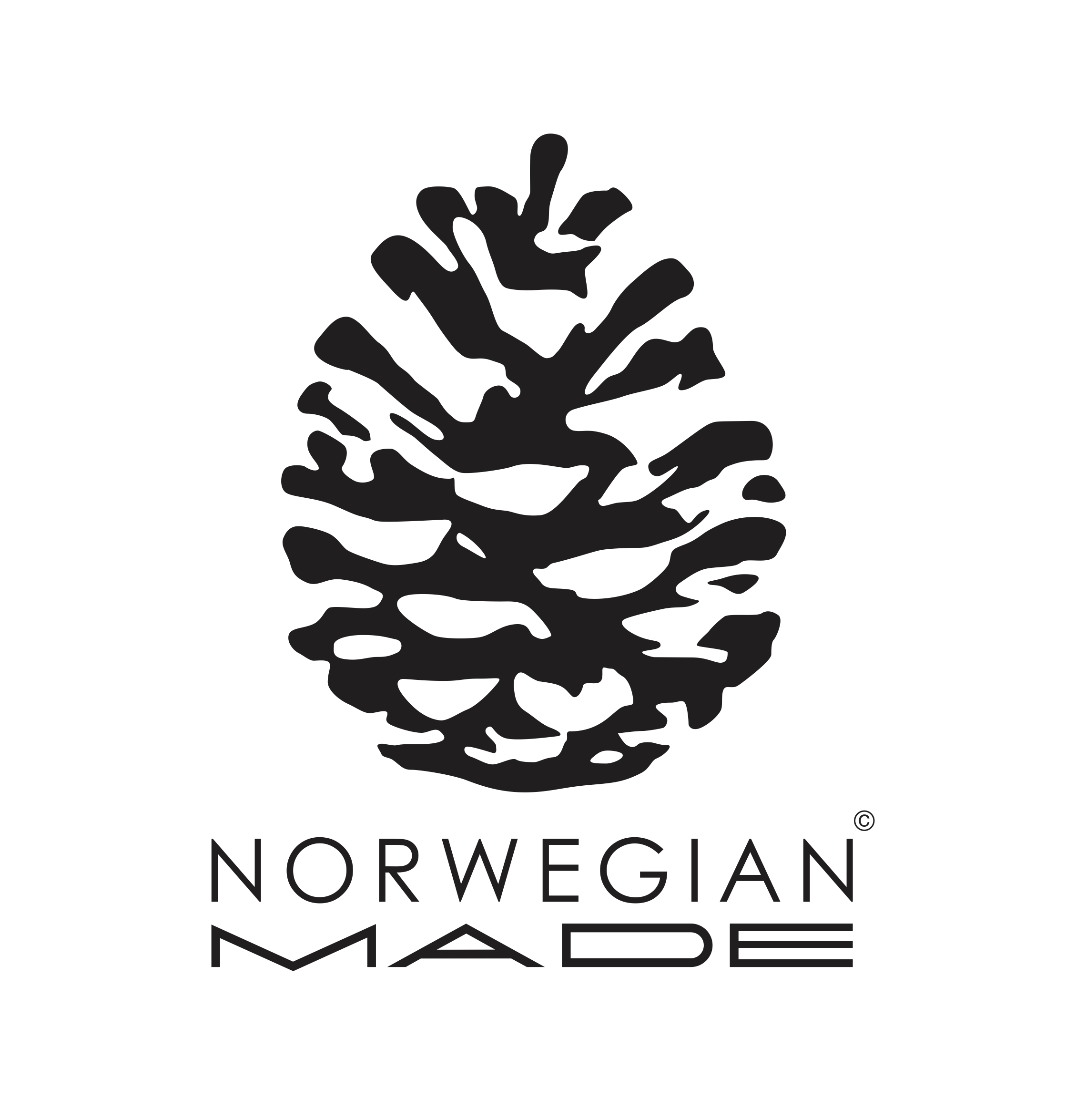 Logoen til byrået Norwegian Made.